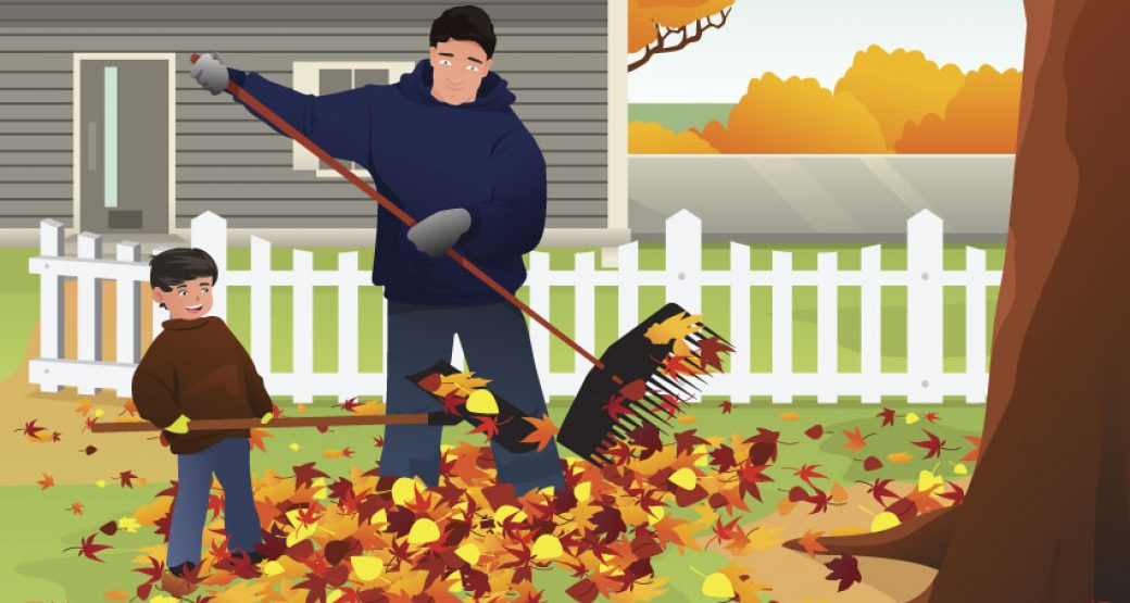 How to Rake Leaves Like a Pro